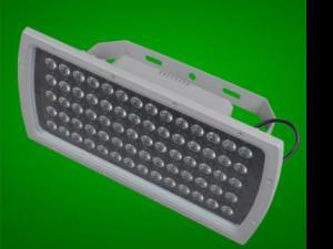 LED投光灯平板灯照树灯户外防水广告灯36W70W100W工厂照明泛光灯