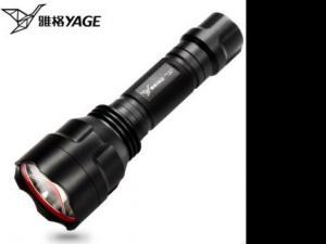 照明led强光手电筒 防水充电小手电超亮