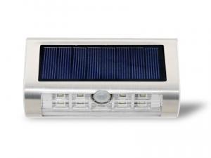 太阳能新款灯9LED户外灯壁灯不锈钢人体